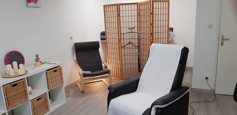 Cabinet de réflexologie plantaire, soin du corps et méditation à Sautron